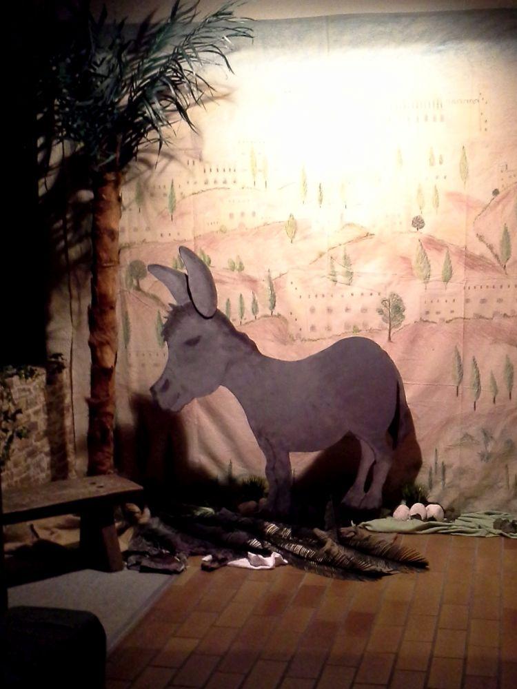 Der Esel beim Einzug